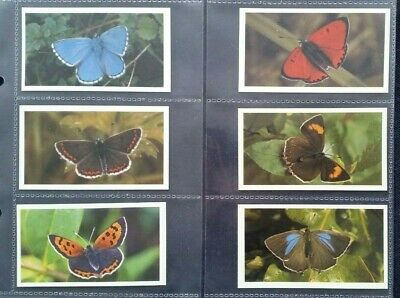 Grandee Cigarette/Cigar Cards BRITISH BUTTERFLIES Set Of 32 In Sleeves • 3.25£