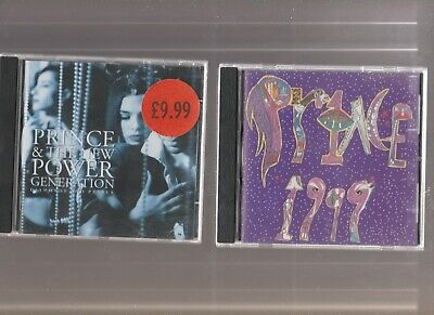 Prince & New Power Generation : Diamonds & Pearls + 1999 / TWO CD Albums • 3.89£