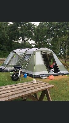 Outwell Montana 6-Person Tent, With Carpet And Awning. Good Condition. • 199£