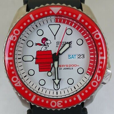 $ CDN255.18 • Buy Seiko 7S26-0020 Vintage Divers Flying Ace Automatic Watch Mod SKX007 #098