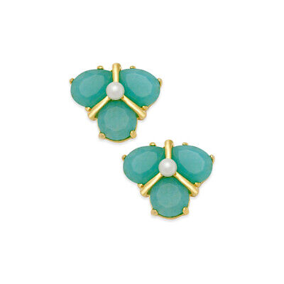 $ CDN31.90 • Buy Kate Spade Green Mini Stone Imitation Pearl Stud Earrings