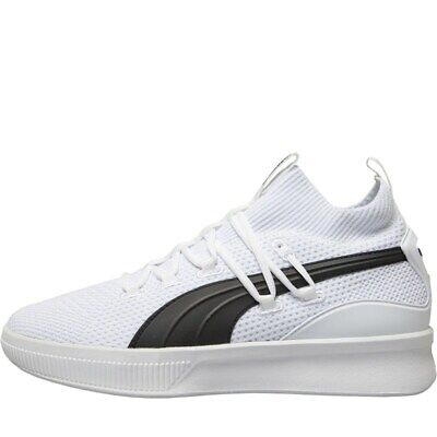 Puma Mens Clyde Court Basketball Shoes Puma White • 46.98£