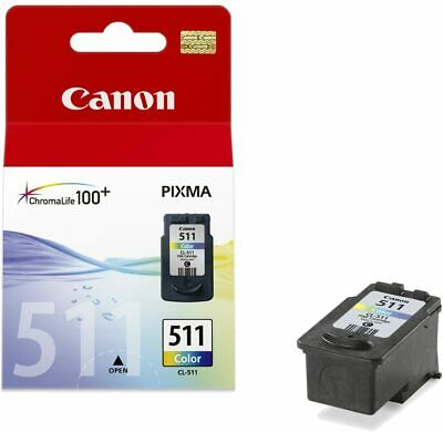 Original Canon PG510 & CL511 Ink Cartridges - For Canon PIXMA Printers • 15.99£