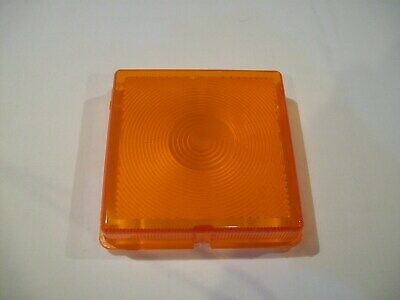 Square Indicator Lens Trailers Fit Some Ifor Williams Horse Box Lorry FREE P&P • 9.99£