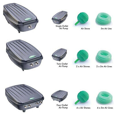 £33.95 • Buy Blagdon Pond Air Pump Oxygenator Kit - With Airline & Air Stones Aeration
