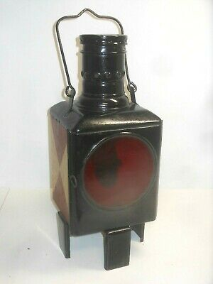 Railway Lamp Light Signal Lantern Bahnlampe DB German Train 1965 • 56.06£