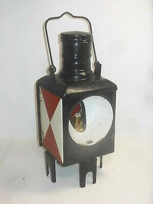 Railway Lamp Light Signal Lantern Bahnlampe DB German Train 1989 • 56.06£