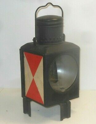 Railway Lamp Light Signal Lantern Bahnlampe • 56.06£