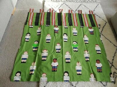 £20 • Buy Next Green Bedroom Curtains - England - Football- Excellent Condition