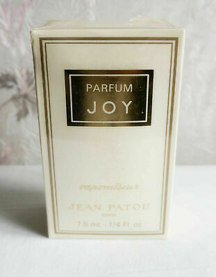 1980 Joy Jean Patou 7.5 Ml Pure Parfum Vintage • 87£