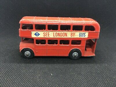 $ CDN8.65 • Buy Unknown Diecast Vintage Collectable Lonestar Double Decker Bus Made In England