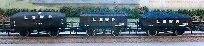 3 X LSWR Wagons (by Unique Wagons) 00 Gauge (15) • 49.50£