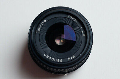 [Excellent] Tokina 28mm 1:2.8 F2.8 F/2.8 - Wide Angle Lens - Canon Mount FD • 13.99£