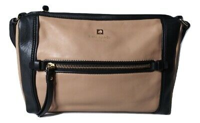 $ CDN57.42 • Buy Kate Spade Crossbody Bag Color Block Brown Black Shoulder Bag Purse