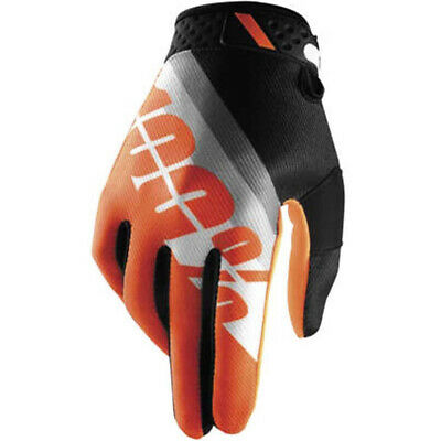 AU42.95 • Buy 100% Percent MX Ridefit Slant Orange Gloves Dirtbike 100 Percent