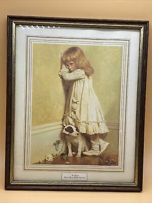 £16.99 • Buy Vintage  In Disgrace  By Charles Burton Barber Wooden Framed Mounted Print