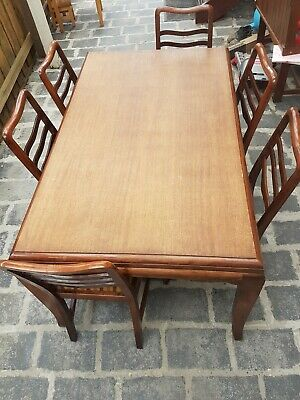 AU150 • Buy Wooden Dining Table With 6 Chairs
