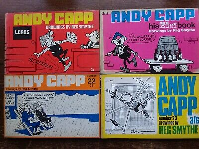 Andy Capp Books X 4 • 5£