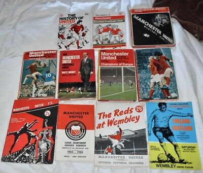 Manchester United Books And Programmes 60s • 9.99£