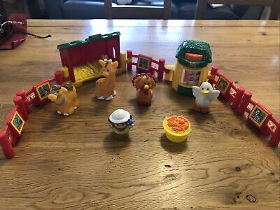 Fisher Price Little People Zoo Farm Extension Gates, Extras, Animals, Zookeeper  • 1£