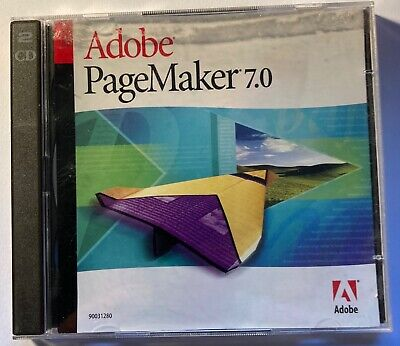 Pagemaker 7.0 Windows Install Discs Plus Manual • 28£