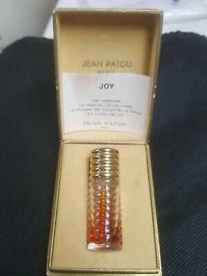 VINTAGE Joy By Jean Patou Paris Perfume  Boxed  And Rare Ridged Bottle  • 20£