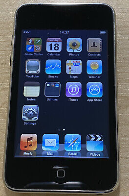 IPod Touch 2nd Generation Black (8GB) • 9.99£