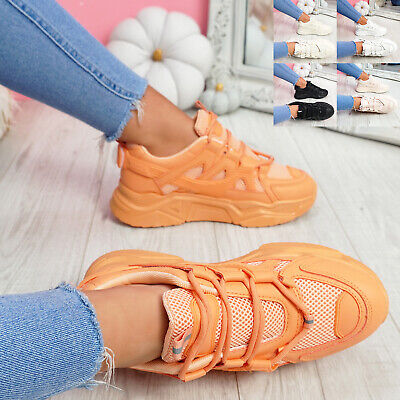 $ CDN29.79 • Buy Womens Ladies Chunky Sneakers Party Trainers Women Platform Sports Shoes Size