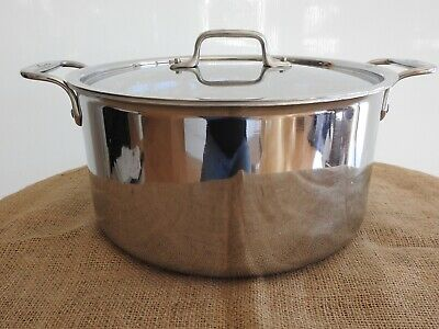 $ CDN231.21 • Buy All-Clad 8 Qt. Stock Pot, Stainless Steel With Lid