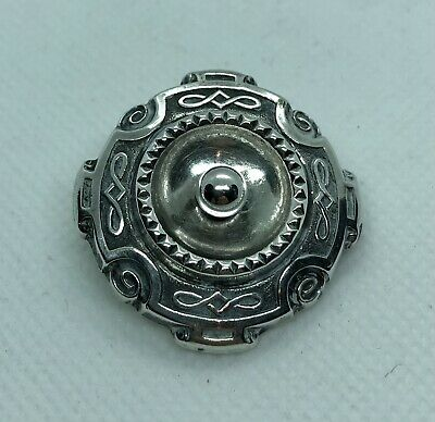Silver Edwardian Celtic Brooch • 5£