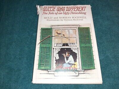 $ CDN7.52 • Buy Willie Was Different By Molly & Norman Rockwell 1969 HC/DJ Ugly Thrushling Tale