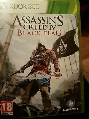 Assassin's Creed IV: Black Flag (Microsoft Xbox 360, 2013) • 3£