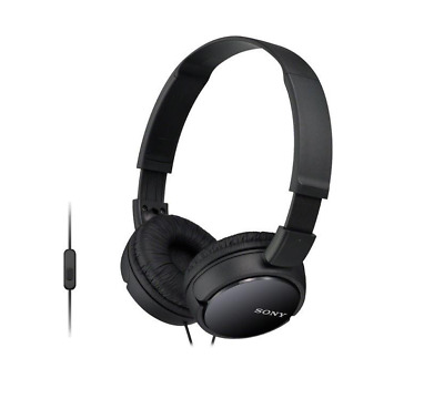 AU35 • Buy Sony MDR-ZX110APB Sound Monitoring Over-Ear Headphones With Line Mic - Black