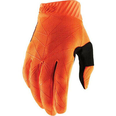 AU42.95 • Buy 100% Percent MX Ridefit Fluro Orange Gloves Dirtbike 100 Percent