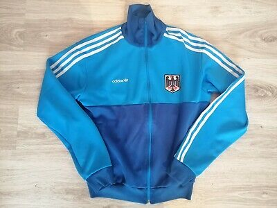 Germany National Team Retro Training Jacket Adidas Originals M Medium Olympic • 49.99£