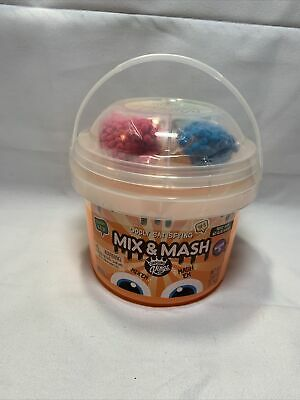 AU19.56 • Buy Mix And Mash Squishy Like Slime Confetti Mash By Compound Kings 2.64lb Bucket T2