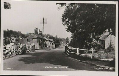 Postcard - Narborough Village, Norfolk - Real Photo 1950s • 9£