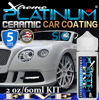 $49.95 • Buy Xtreme Platinum Ceramic Car Coating Sio2 Pro Grade Paint Sealant -car Polish Wax