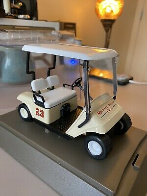 $195 • Buy Michael Jordan Golf Cart 23 In Display Case