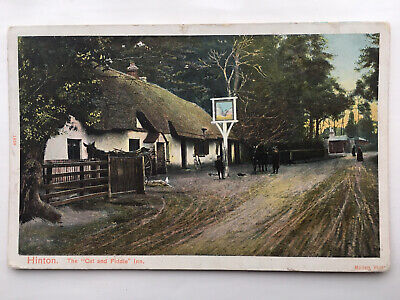 Hinton Postcards X 2 - Cat And Fiddle Inn  • 3.19£