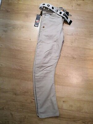 CROSSHATCH Series 55 Beige Trousers W30 Regular New With Tags • 11£