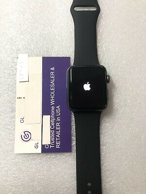 $ CDN101.89 • Buy Apple Watch Series 3 42mm Gray Nike+ A1861(GPS+LTE) In Good Condition(01-13)