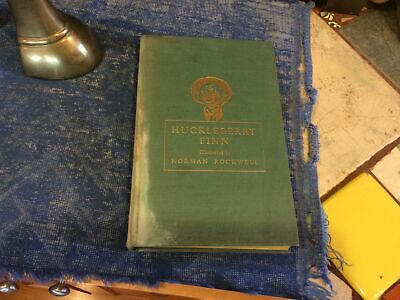 $ CDN12.72 • Buy Vintage Huckleberry Finn 1940 Heritage Press Illustrated By Norman Rockwell