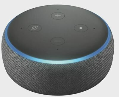 AU28 • Buy Amazon Echo Dot (3rd Generation) Smart Assistant - Charcoal Fabric
