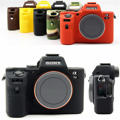 $ CDN16.33 • Buy Silicone Rubber Skin Case Camera Cover Bag  For Sony A7R III A7RM3 A7III A9