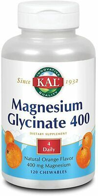 £20.38 • Buy KAL® Magnesium Glycinate 400 Mg   Chelated Magnesium Supplement   High