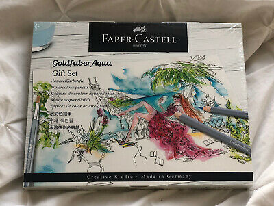 Faber Castell Watercolour Pencils Gift Set - New + Unopened • 15£