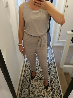 In The Style Silver Grey Jumpsuit Size S • 8.50£