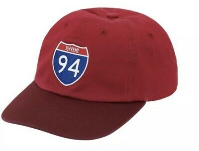 $ CDN32.84 • Buy Supreme Interstate 6-panel Red Hat Os Brand New, Fw20 Week 1 Authentic (in Hand)