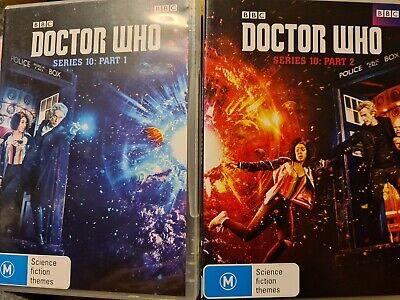 Doctor Who - Complete Series 10 DVD!  PETER CAPALDI. VGC, REGION 4 IMPORT! • 7.99£